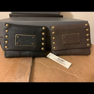 Women's Trifold  Wallet Black